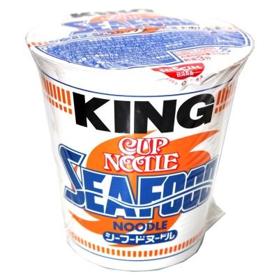 日清 KING杯麵-海鮮風味(128g)