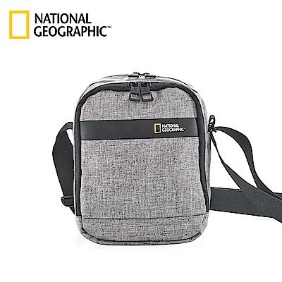 國家地理 National Geographic Stream 無印中型側背包-灰