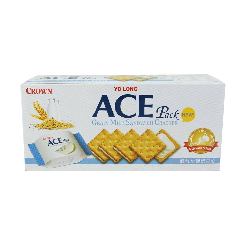 ACE 優龍五穀牛奶夾心餅乾(128g)