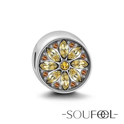 SOUFEEL索菲爾 925純銀珠飾 托斯卡尼艷陽下 串珠