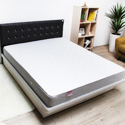Pathfinder派菲德 羅柏側邊格紋促銷獨立筒床墊-雙人加大6尺