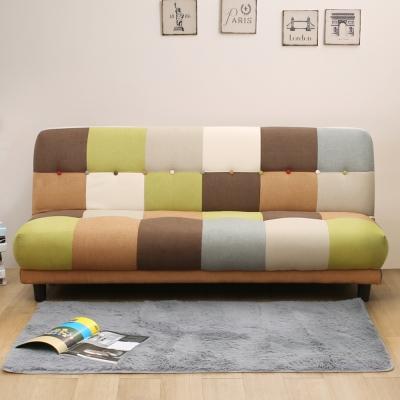 日安家居 Eugene尤金巧拼方塊沙發床