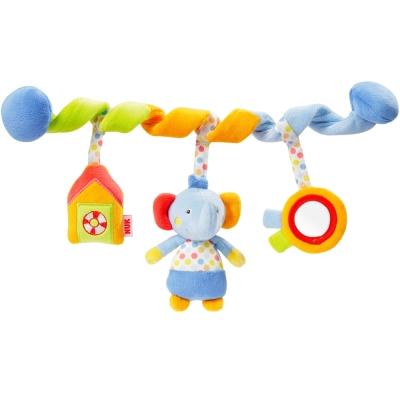 德國NUK絨毛玩具-小象活動卷卷裝飾組