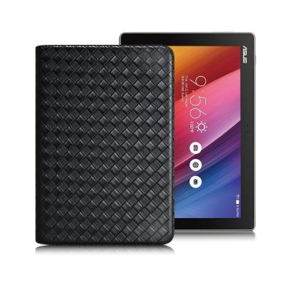 XM Asus ZenPad 10.0 Z300C 魔幻編織立架側扣皮套
