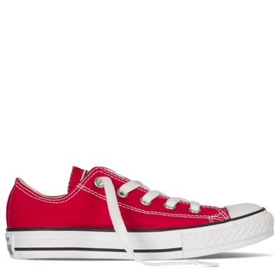 CONVERSE-All Star 中童鞋-紅