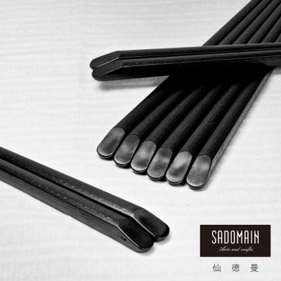 仙德曼 SADOMAIN  高玻抗菌筷-斜角10雙