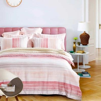 Ania Casa彩色迷情 天絲 100% TENCEL 加大鋪棉兩用被套床包四件組