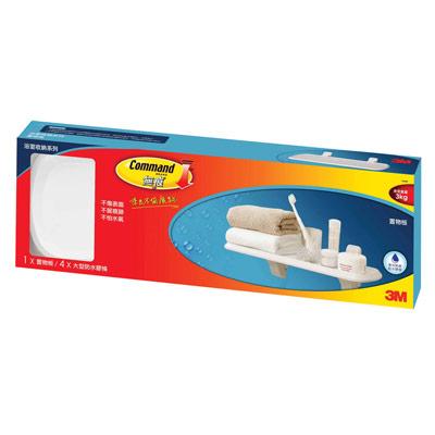 3M-無痕衛浴收納系列-置物層板