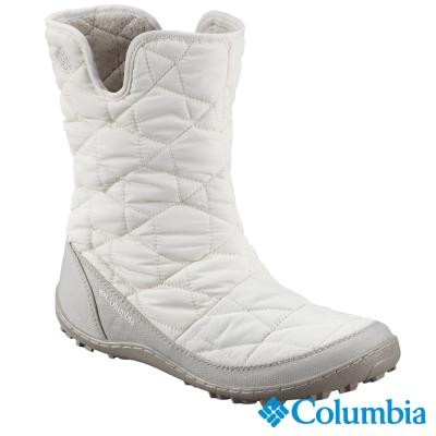 【美國Columbia哥倫比亞】女-防水保暖雪靴-白 UBL15970WT