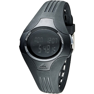 adidas 活力玩家運動電子錶(ADP6061)-黑/37mm