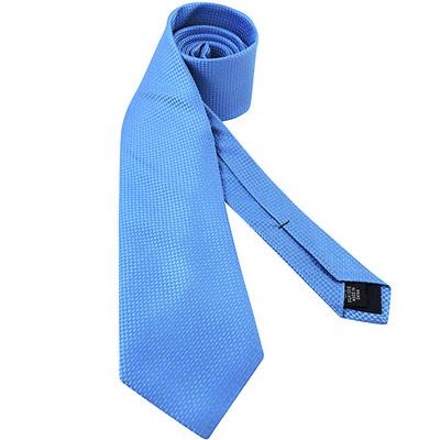 MICHAEL KORS 藍色菱格紋造型領帶