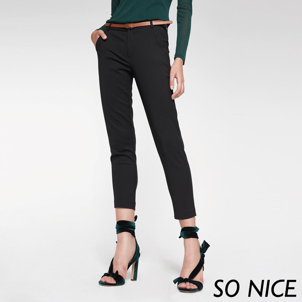 SO NICE都會簡約設計長褲