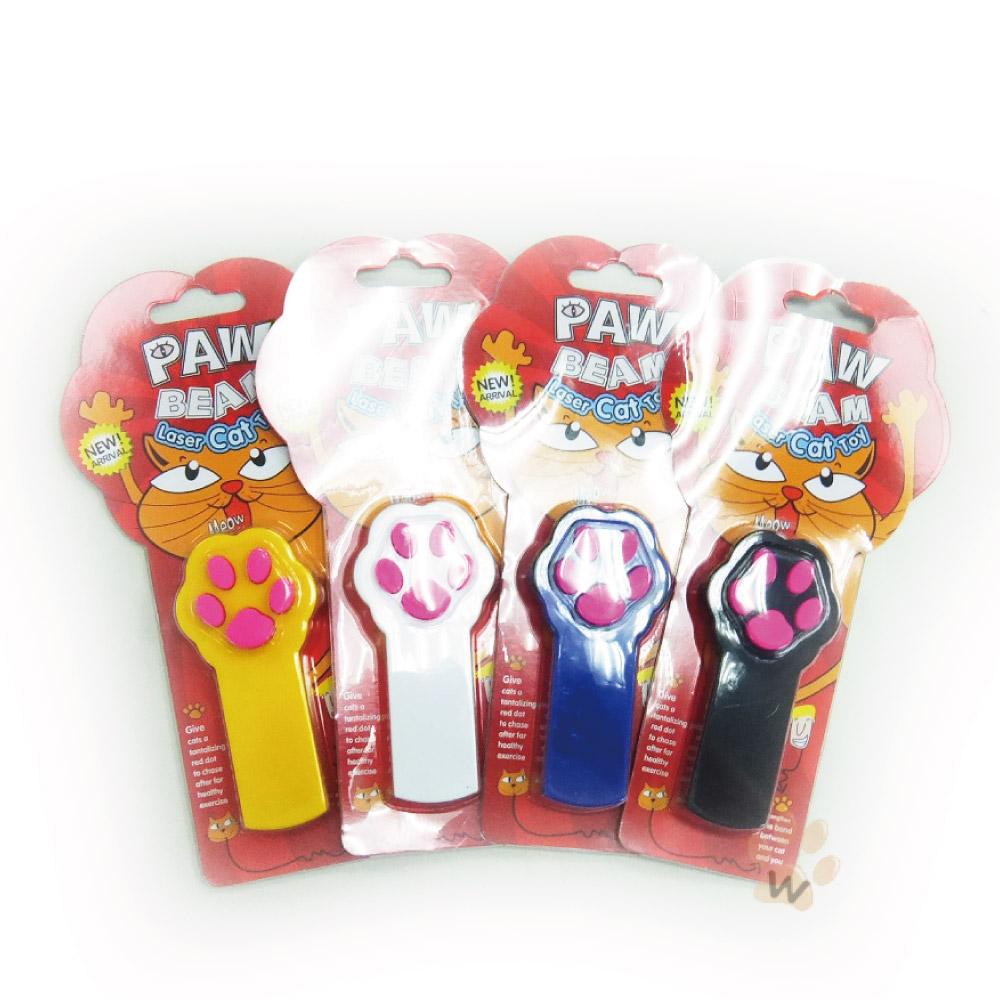 PawBeam肉球造型掌上雷射筆顏色隨機
