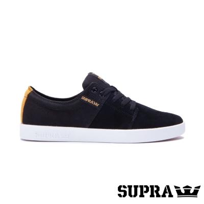 SUPRA Stacks II系列男鞋-黑/琥珀/白
