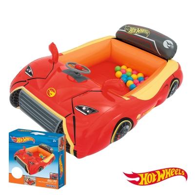 《凡太奇》Hot Wheels。風火輪賽車造型充氣球池(附贈25顆球)