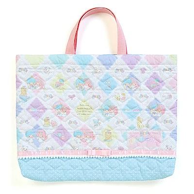 Sanrio 雙星仙子彩虹魔法系列棉布提袋/補習提袋