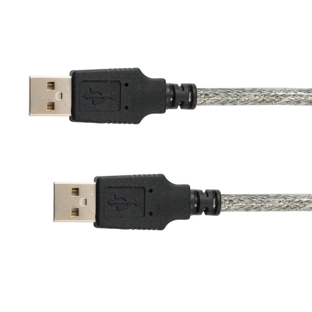 Cable USB 2.0 高速傳輸線 A公-A公 1公尺