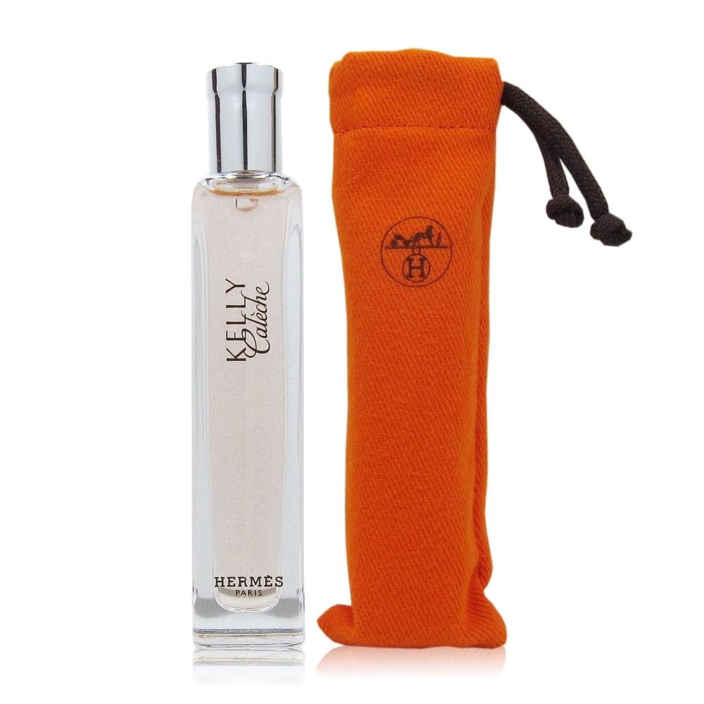 HERMES愛馬仕 凱莉驛馬車女性淡香精15ml國際機場免稅限定版 隨機附贈品牌攜出套子