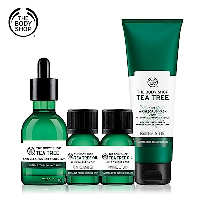 The Body Shop 茶樹美肌無瑕組