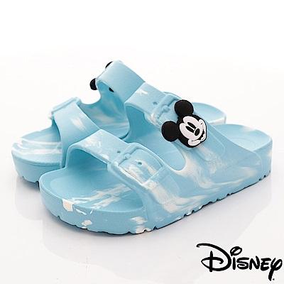 迪士尼童鞋 米奇超輕拖鞋款 ON18356藍 (中小童段)