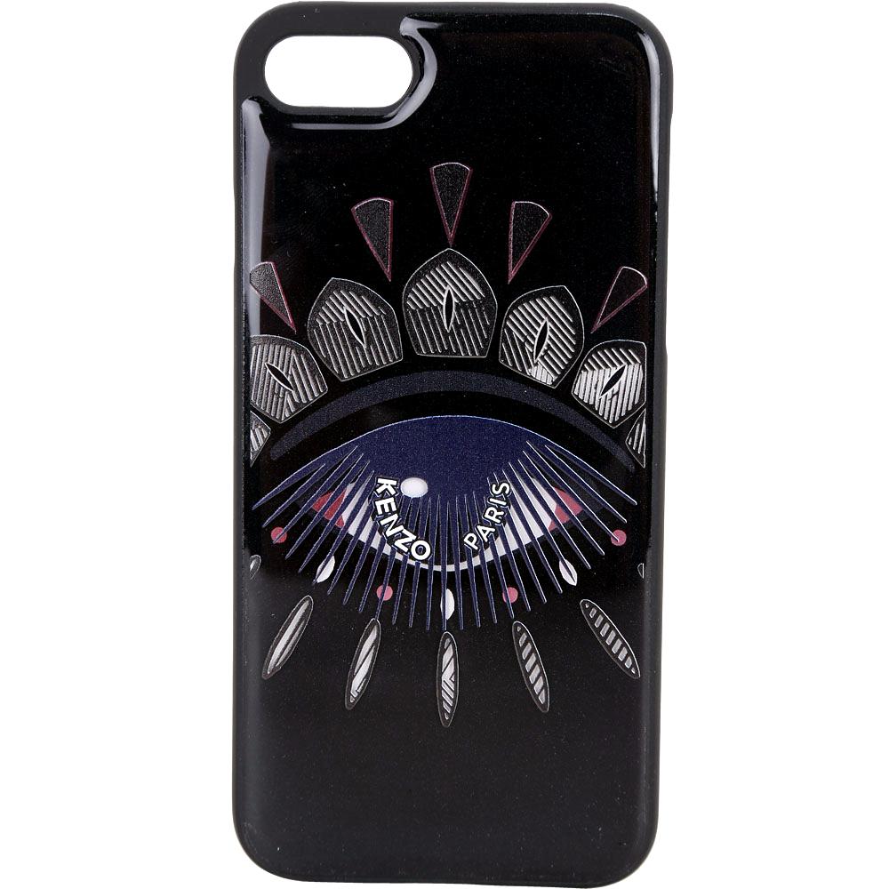 KENZO Nagai Eye iPhone 7/8 眼睛圖騰塑料手機殼(黑粉色)