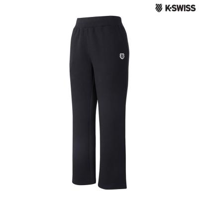 K-Swiss Fleece Sweatpants運動長褲-女-黑