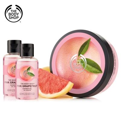 The Body Shop 粉紅葡萄柚滋養沐浴組