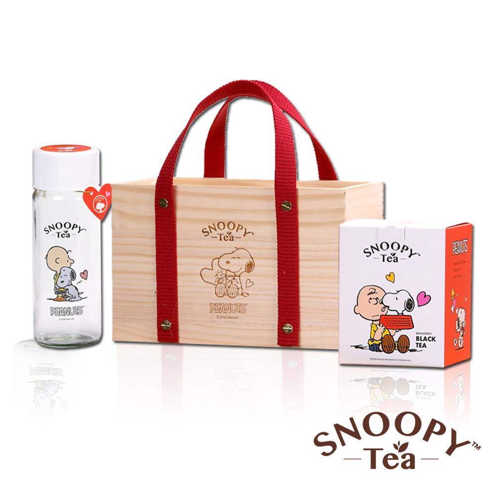 沐青SNOOPYTEA紅茶精緻禮盒