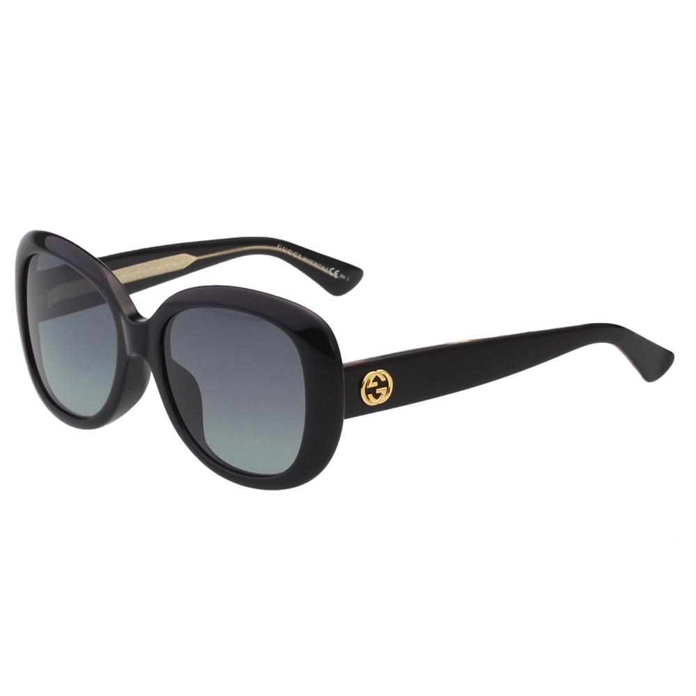 GUCCI- 復古百搭 太陽眼鏡 (黑色)GG3830FS