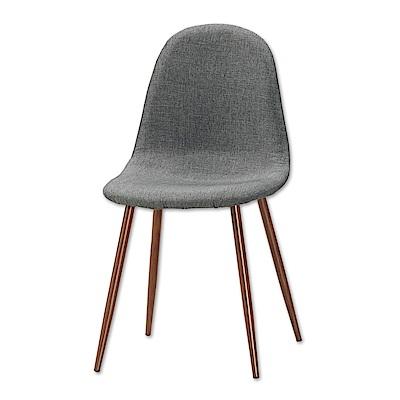 Bernice-柯妮北歐風餐椅/單椅(兩色可選)-45x52x87cm