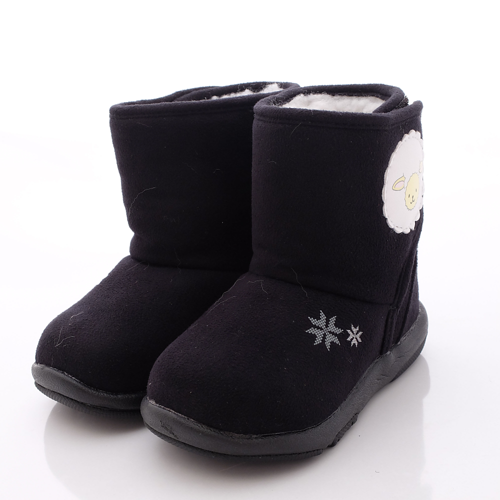 日本Carrot機能童鞋-暖羊羊學步靴款-B126(寶寶段)HN