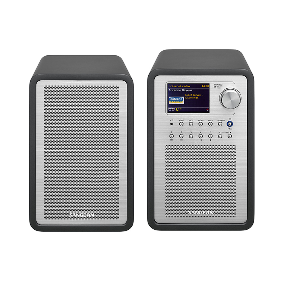 SANGEAN 數位音響 (附分離式喇叭)  WFR70+SP40