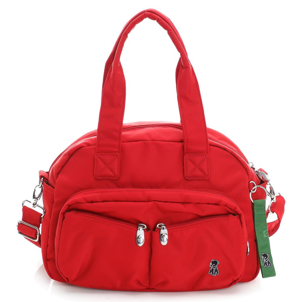 IFFI-有Bear來.iPad 側肩包-紅色
