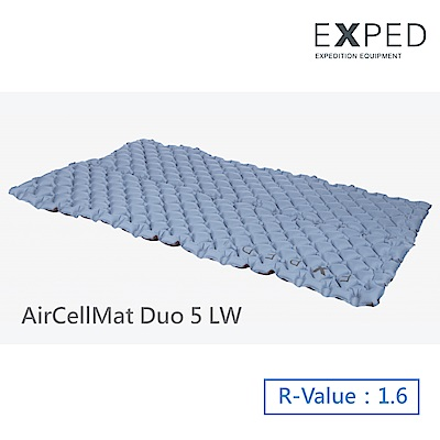 【瑞士EXPED】AirCellMat DUO 5 (LW)雙人睡墊
