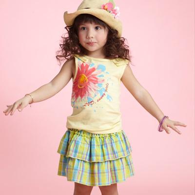 【LOVEDO-艾唯多童裝】繽紛花園 花仙子短裙