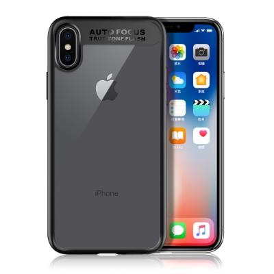 XM iPhone X 5.8吋 原始透明背蓋手機殼