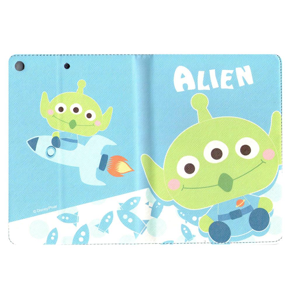 iPad Air 玩具總動員TOYSTORY 三眼怪ALIEN支架書本式皮套