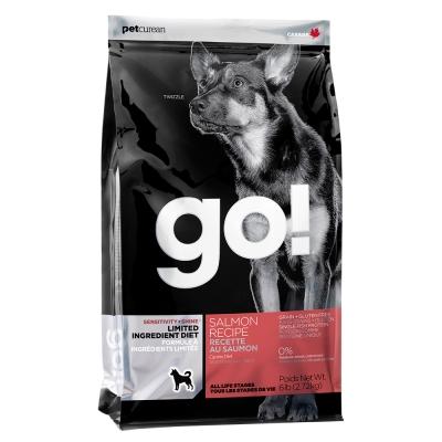 Go! 低致敏鮭魚無穀全犬配方《25磅》