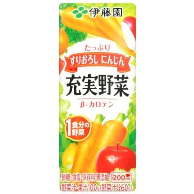 伊藤園 充實野菜汁-綜合紅蔬(200ml)