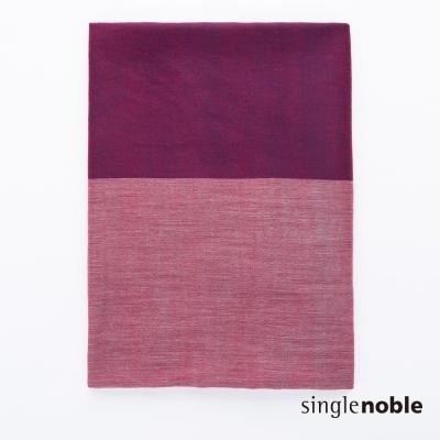 獨身貴族 柔美前衛混色羊毛抽鬚設計圍巾(4色)