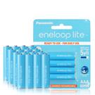 藍鑽輕量版 Panasonic eneloop lite 低自放4號充電電池(16顆入)