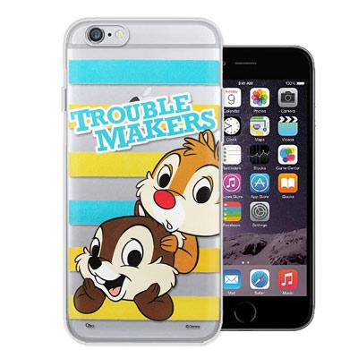 迪士尼 iPhone6s / 6 plus 5.5吋 大頭招呼系列軟式手機殼(奇...