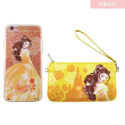 Disney迪士尼iPhone 6/6S(4.7)防摔氣墊空壓保護套+手機袋禮盒...