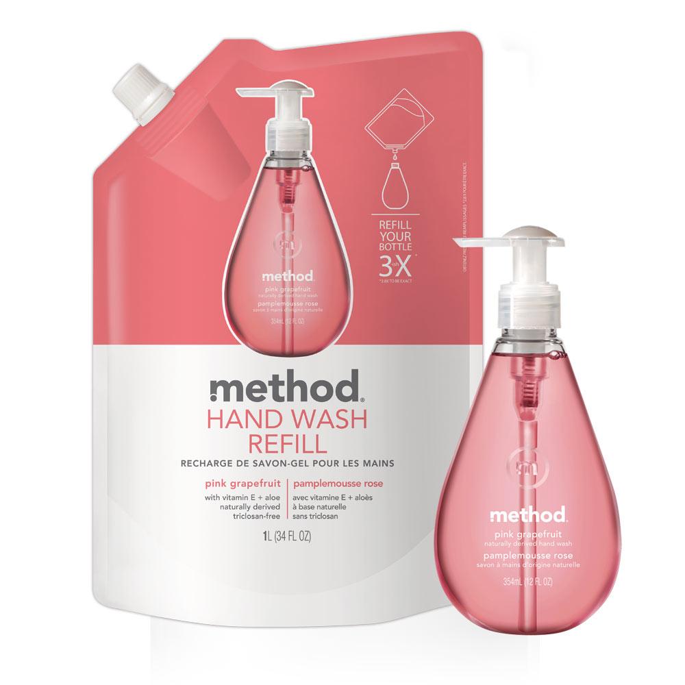 Method 美則 粉紅葡萄柚天然洗手超值組