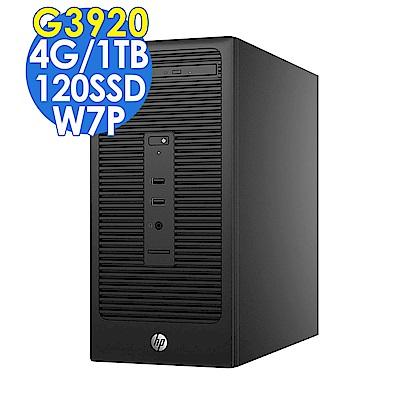 HP 280G2 G3920/4G/1TB+120SSD/W7P