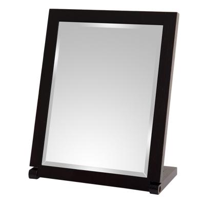 實木長型桌上鏡