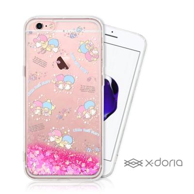 三麗鷗雙子星 iPhone 6/6s plus 亮片流沙手機軟殼 - 海洋