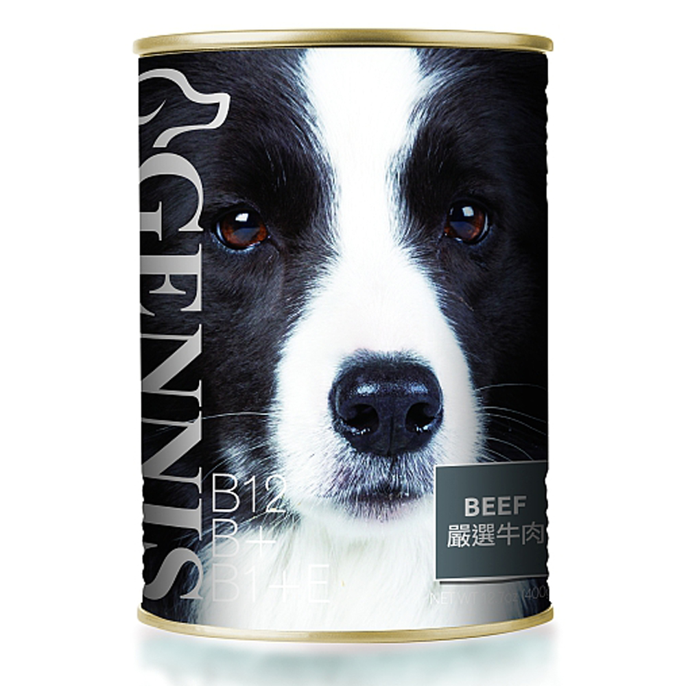 MDOBI摩多比- 吉尼斯犬餐罐 嚴選牛肉400G(24罐)