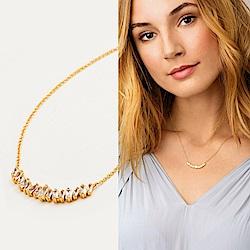 GORJANA 公主切割方鑽 微笑平衡項鍊 Amara Necklace