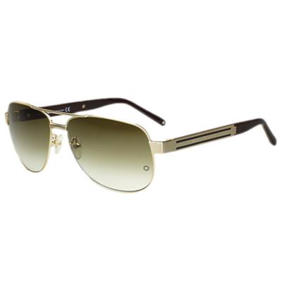 萬寶龍MONTBLANC  太陽眼鏡 (金色)MB364S-29F